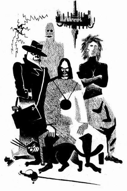 The Master and Margarita - Illustrations - Aleksandr Ivanov