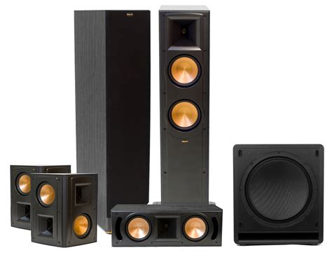 klipsch rf 62 ii home theater system 5 1