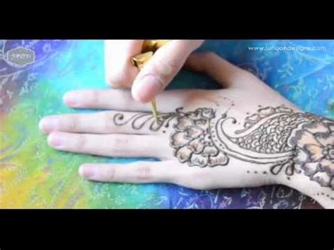 henna tattoo design tutorial henna tutorial