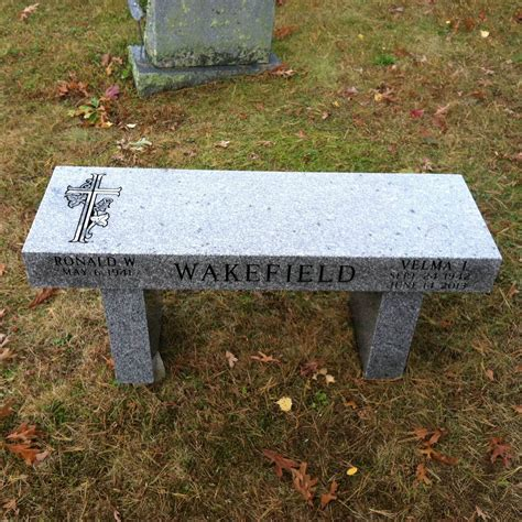 bench headstones monument benches for graves pictures to pin on pinterest pinsdaddy
