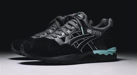 Asics Gel Lyte V Black asics gel lyte v black mint sneaker bar detroit