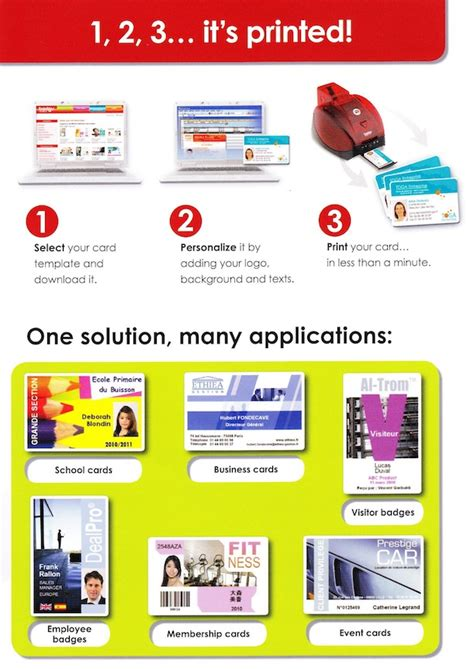 badgy card templates following are the items included in the badgy printer system