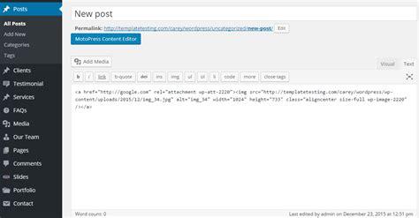 wordpress tutorial hyperlink wordpress wie man das beitragsbild zur eigenen url