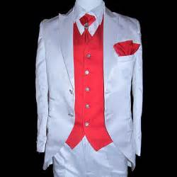 Red two button fitted dress suit clothing for men wedding sku 123123