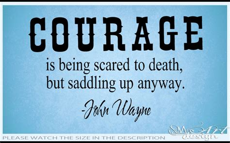 Courage Quotes Wayne Quotes