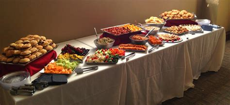 What Is A Buffet Table Entertaining 101 How To Set Up A Buffet Table Decor