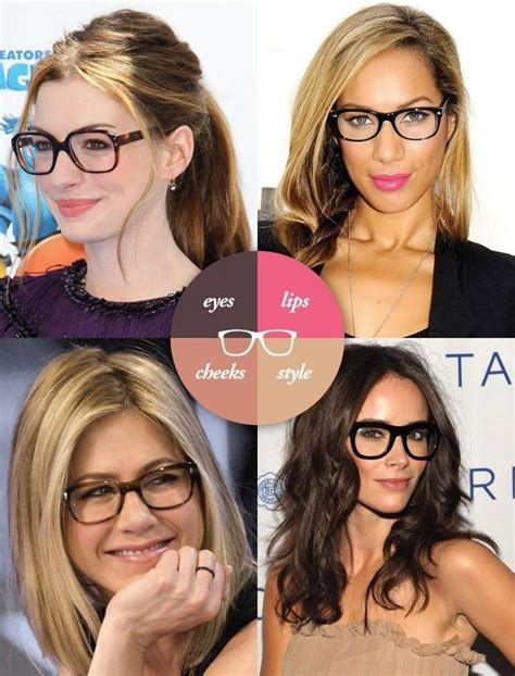hairstyles to make glasses look good makeup eyewear makeup 2505687 weddbook
