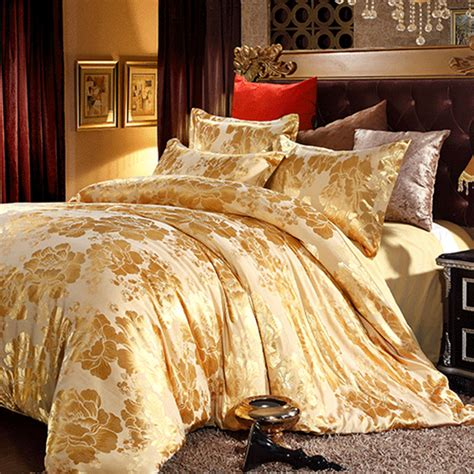 gold colored comforters 20 fancy golden colored bed linens home design lover