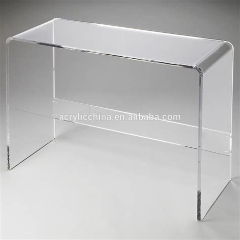 modern furniture rental acrylic trunk storage lucite clear