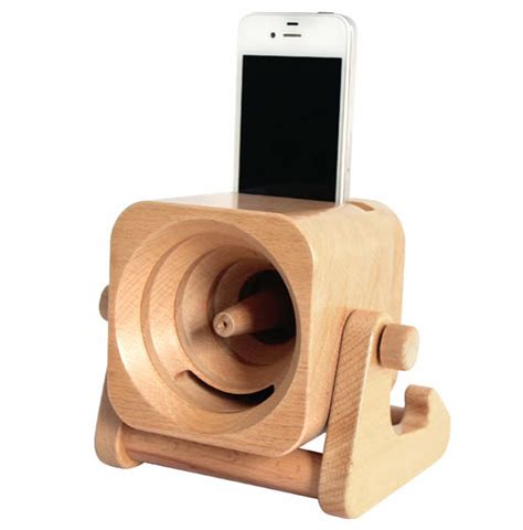 Diy Charging Station Ideas by Wooden Turbo Prop Engine Speaker Sound Amplifier Stand
