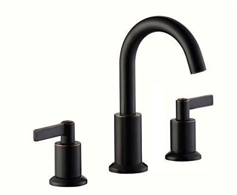 solid brass bathroom faucets derengge solid brass two handles 8 widespread bathroom