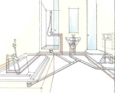 impianti di scarico bagno bagno impianto di scarico bagno schema termoidraulica la