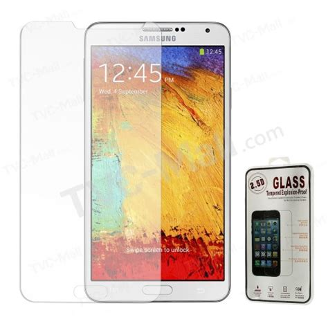 Tempered Glass 9h Samsung Galaxy Note 3 Neo Duos Anti Gores Kaca 0 3mm 9h shatterproof tempered glass screen protective for samsung galaxy note 3 neo n750