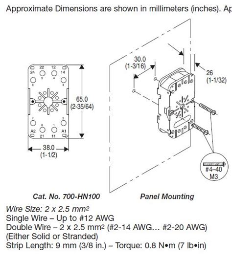 allen bradley contactor wiring diagram electrical schematic