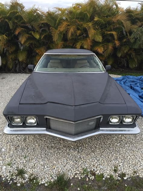 boat car for sale 1971 buick riviera boat tail project car for sale