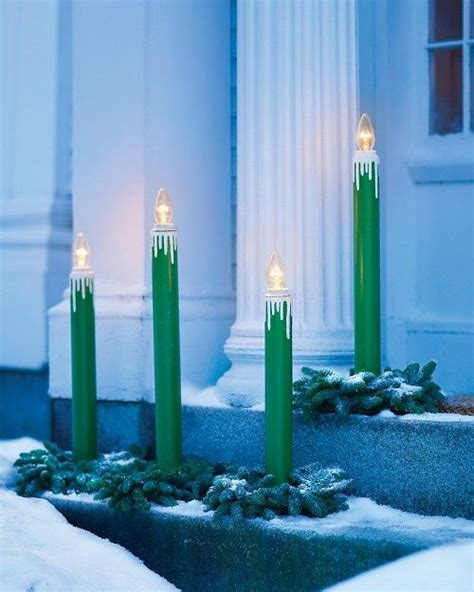 outdoor candle ls christmas candles outdoor