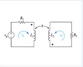 coupled inductor inductance to apply the dot convention and kvl to find the co chegg