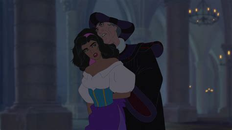 ?Let her be mine and mine alone?   The Hunchback of Notre