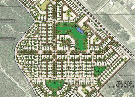 layout plan of town town planning urban design and heritage wa harrisdale