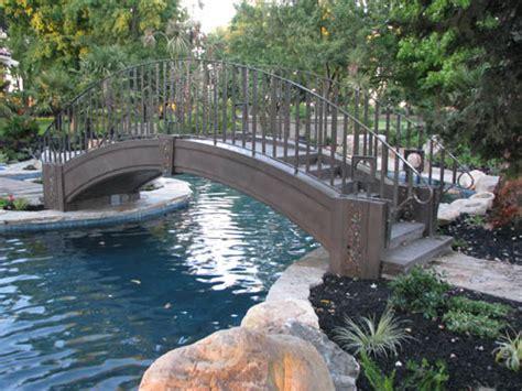 furniture stores in modesto calif concrete artisan builds tale concrete bridge with