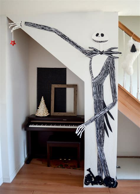 skellington home decor maydae decorations skellington