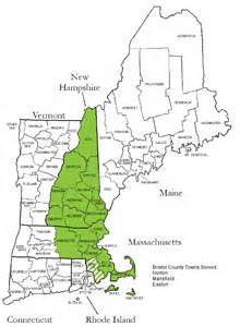 map of northeast counties map of new counties images