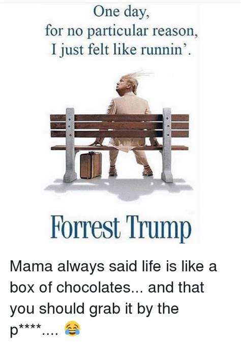 Life Is Like A Box Of Chocolates Meme - 25 best memes about forrest trump forrest trump memes