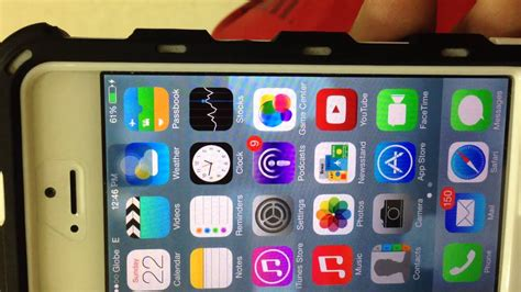 iphone 5 screen glitch