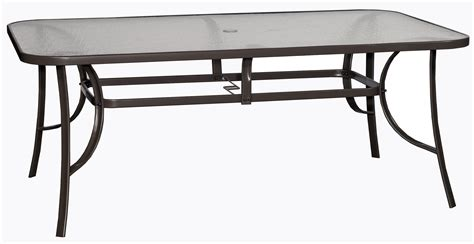 large patio dining table mayfield collection 7 outdoor patio dining rc