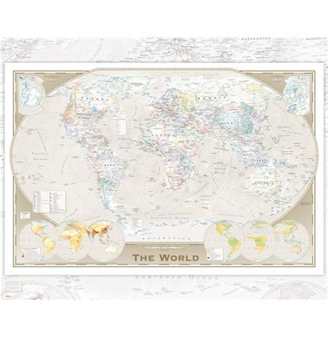 world map with cities poster world map poster 257913 for only 163 2 63 at