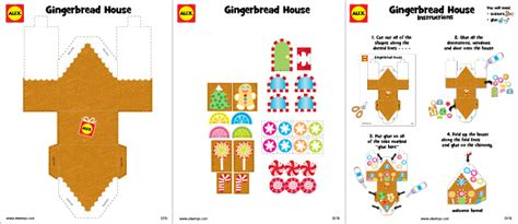 house crafts gingerbread house craft project with free printable