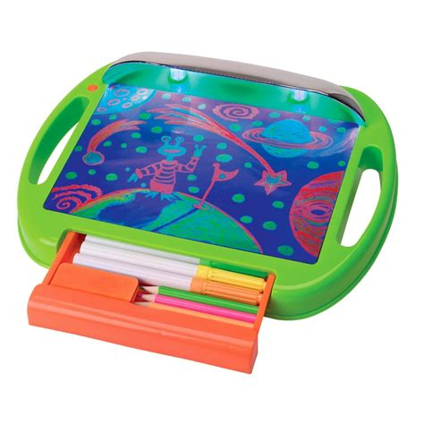glow doodle drawing pad glow a doodle drawing educational toys planet
