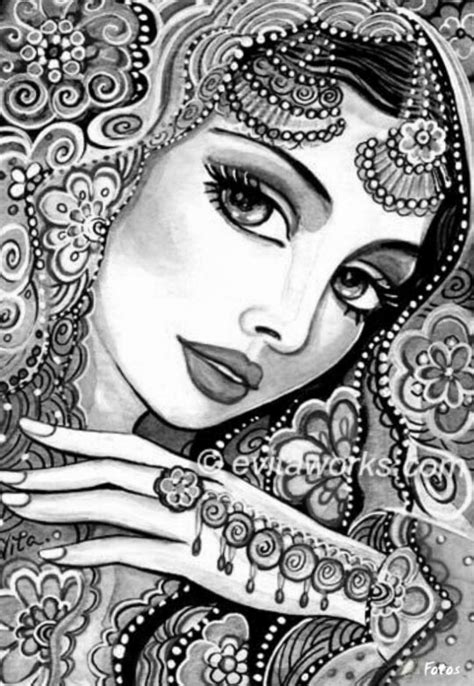 india coloring pages for adults coloring for adults kleuren voor volwassenen art that
