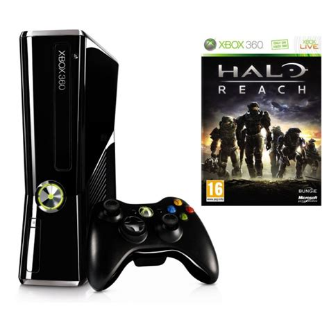 halo reach xbox 360 console console xbox 360 slim 250 go edition limit 233 e halo