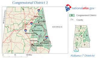 us district court alabama map tallassee al congressional district and us representative
