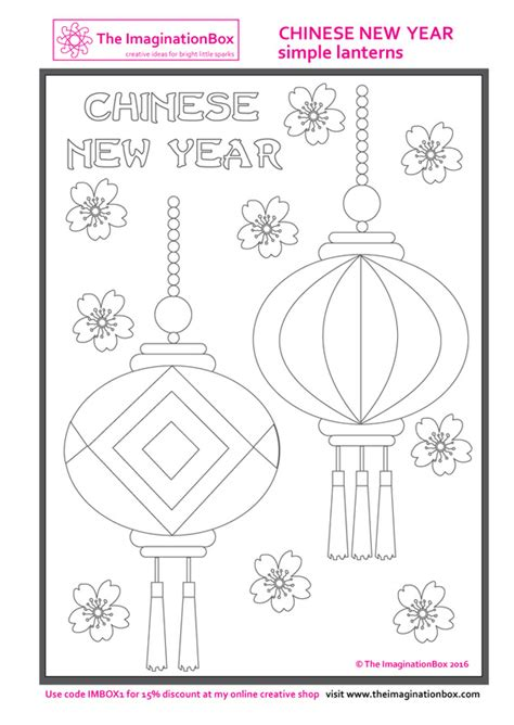 new year lanterns activity new year lantern coloring page new years