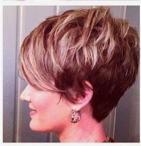 short forehead hairstyles on pinterest highlighted shattered choppy piecy textured pixie with a long