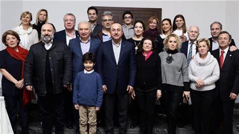 dynastie ottomane turquie cavusoglu accueille des descendants de la