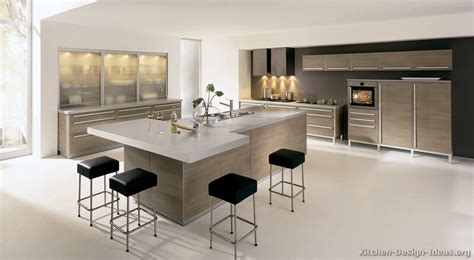 contemporary kitchen island ideas modern kitchen designs gallery of pictures and ideas