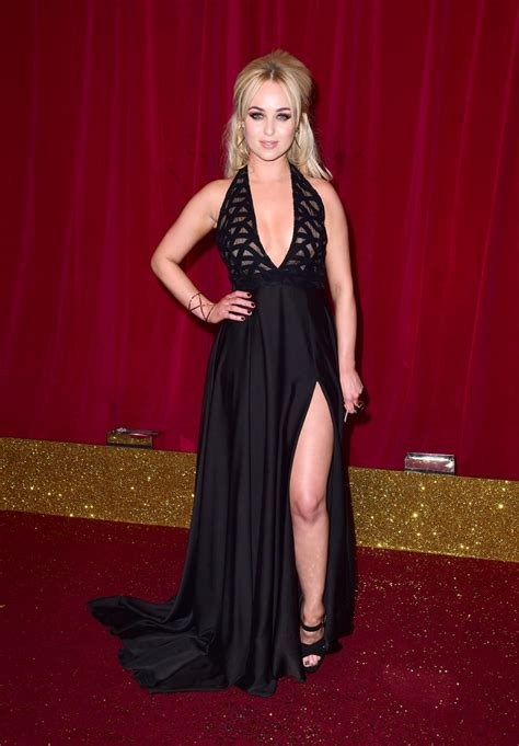 rachel boatswain it s all about the cleavage as stars arrive for the