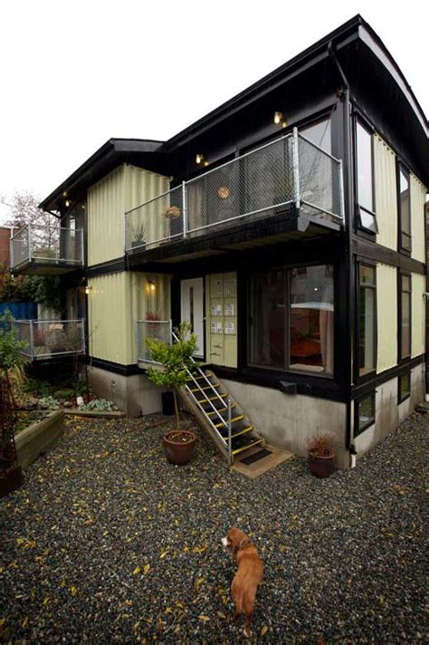 family home in a shipping container can you make it work zigloo domestique a modern family container home