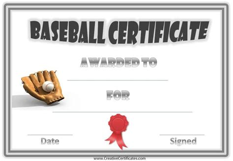 Free Baseball Card Template Powerpoint by Powerpoint Baseball Award Template Images Powerpoint