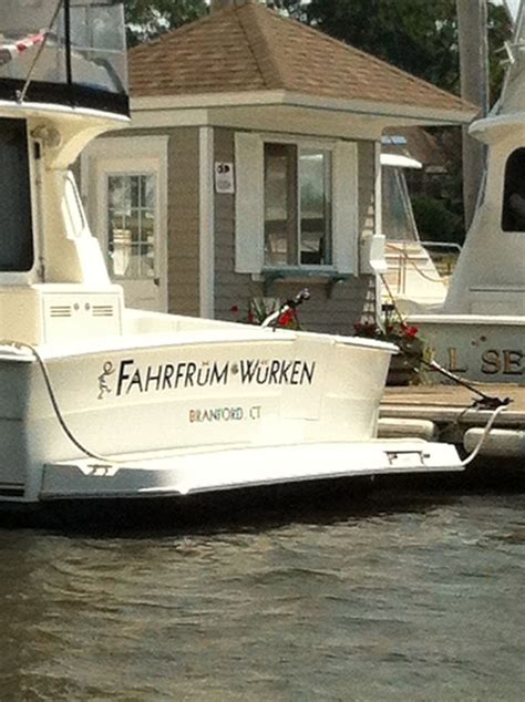 name the 4 sides of a boat german again lol boating pinterest funny boats