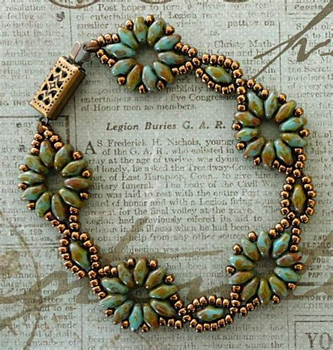 free patterns using superduo beads linda s crafty inspirations bracelet of the day superduo
