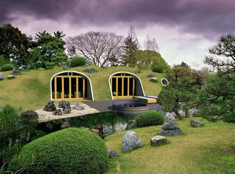 underground tiny house this countryside is filled with underground doors when i