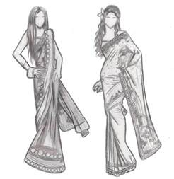 Design Sketch For The fashion design sketches of dresses black and white 2015 2016 fashion