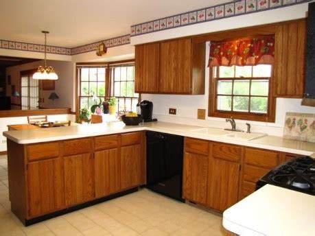 what color countertops with honey oak cabinets color for granite countertop on honey oak cabinets
