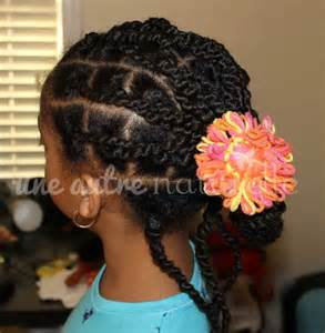 plaits nature hairstyles updo with ghana plaits natural hair styles for kids
