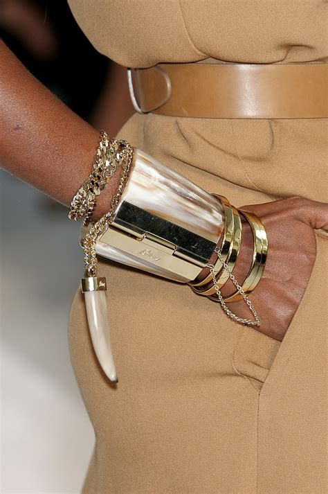 Arm Bangles And Bracelets by Brioni At Milan Fashion Week 2011 Livingly