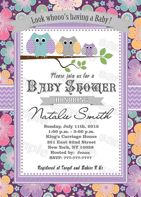 free printable baby shower invitations for girls template